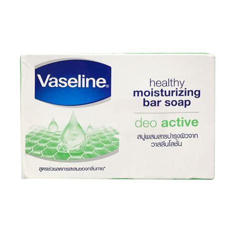 Sabun Vaseline jual vaseline healthy moisturizing bar soap deo active