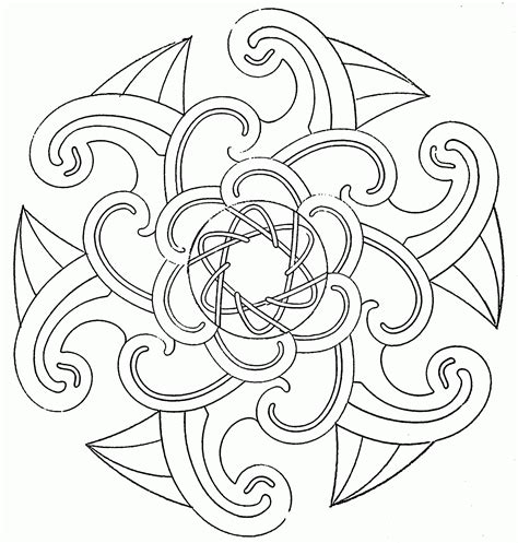 coloring book page designs free printable coloring pages of cool designs coloring home