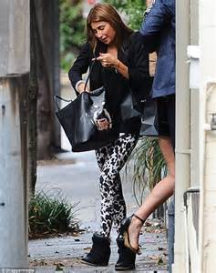 Comfortable Black Pants Jodhi Meares Proves Fashion S Gone To The Dogs With Fierce