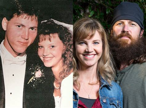 duck dynasty stars without beards jase and missy from duck dynasty see the guys without
