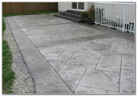 Nice Concrete Patio Design Patio Design 42 Concrete Designs For Patios