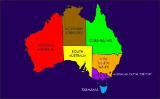 Map Of Australian States by Australia States Rs01 Mapsof Net