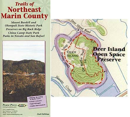 hiking trails of northeast marin county by ben pease