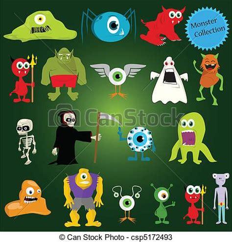 imagenes monstruos halloween vectores de vector halloween monstruos halloween