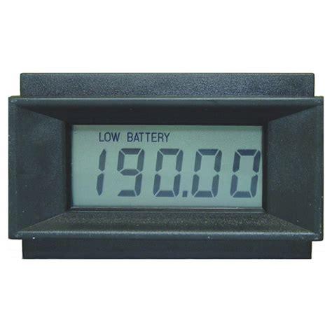 Panel Meter New 4 1 2 Digit Lcd Digital Panel Meter Circuit Specialists