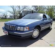 1998 Dark Adriatic Blue Metallic Cadillac DeVille Sedan