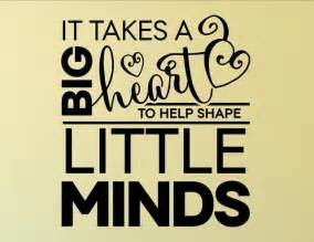 Tile Wall Mural it takes a big heart to help shape little minds wall