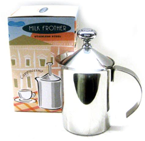 Subron Stainless Press Tea Coffee Plunger Milk Frother 800ml milk frother salumeria italiana