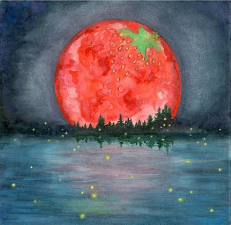 what is a strawberry moon 10 facts about 2017 full moon weekly skywatcher s forecast june 4 10 2012