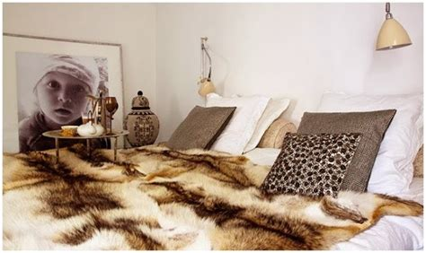 faux fur home decor decorating with faux fur daily dream decor