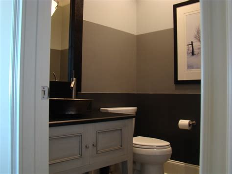half bath with 2 tone paint for the home pinterest christyj contemporary bathroom other metro by