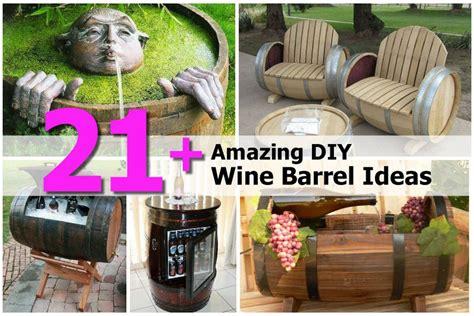amazing diy projects 21 amazing diy wine barrel ideas