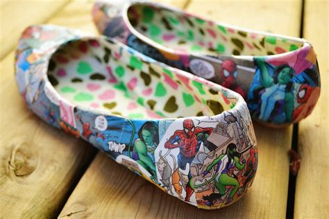 comic book sneakers p s diy comic book shoes