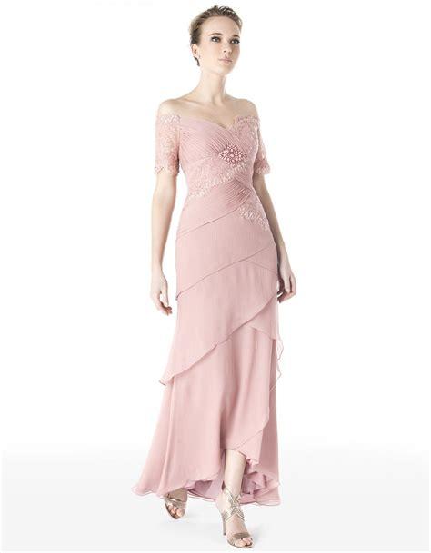 light pink chiffon dress maid of honor wedding ideas pinterest