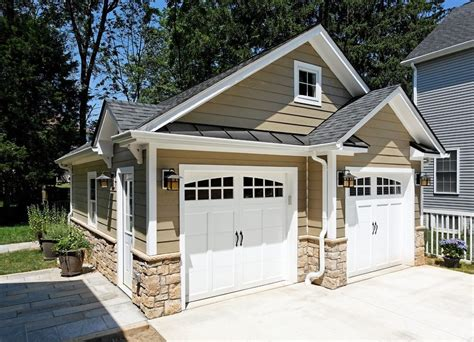 small exterior doors small detached garage workshop garage traditional with