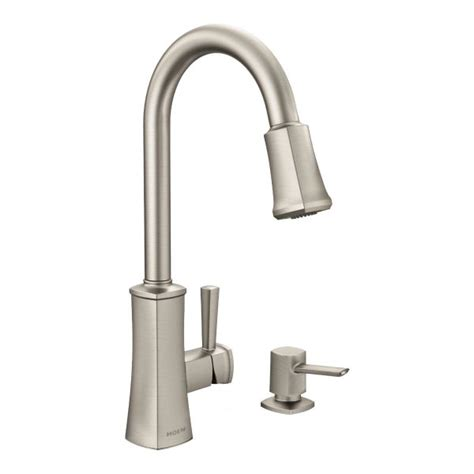 rona moen boutique faucet leaking outdoor faucet bridgestone 1 handle pull down kitchen faucet stainless