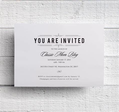 invitation design and printing services corporate event invitation company dinner invitation