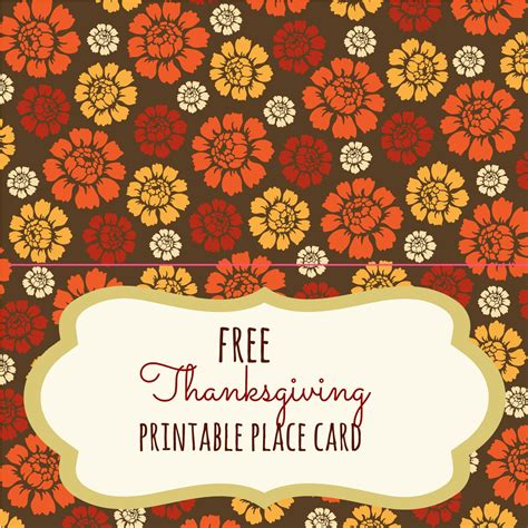 thanksgiving place setting cards template free thanksgiving printables frugal fanatic