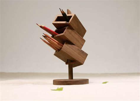 tier wooden office desk organizerblack walnut feelgift
