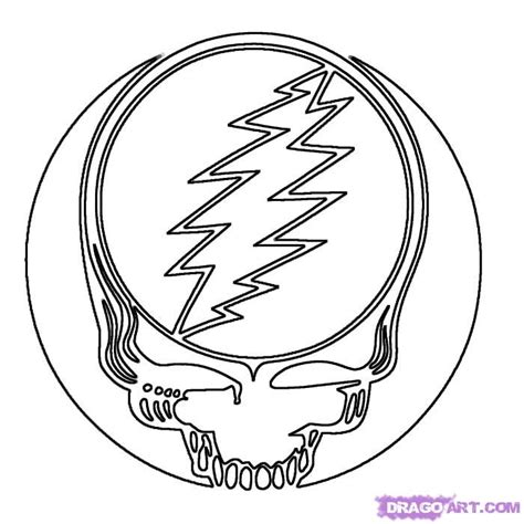 Free Coloring Pages Of Grateful Dead Grateful Dead Colorong Pages
