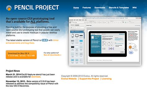 evolus pencil pdf export templates