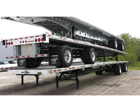 flat bed trailers for sale 2015 manac 53 combo flat bed flatbed trailer for sale indianapolis in