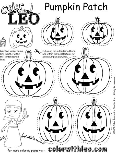 Print Free Seasonal Coloring Pages Of Puzzles And Games Pumpkin Patch Coloring Page