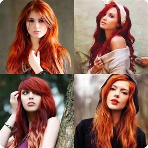 rote haare blonde straehnchen