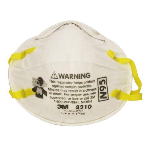 Masker N95 dust mask n95 8210 3m american safety