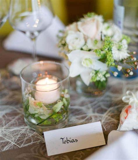 Tischdeko Hochzeit Kerzen by Tischdeko F 252 R Die Hochzeit Weddix