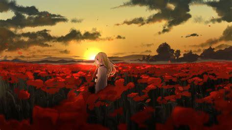 wallpaper anime girl  art