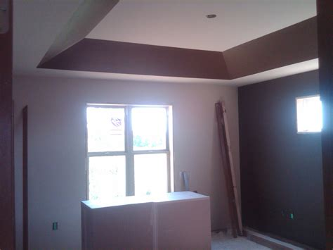How To Paint A Tray Ceiling Home Build Keith And Kinsey S Real Estate Update Page 2