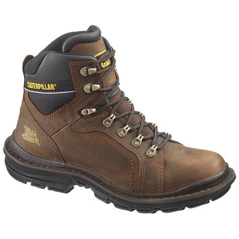 cat work boots for s cat 6 quot manifold work boots oak 231102 work boots