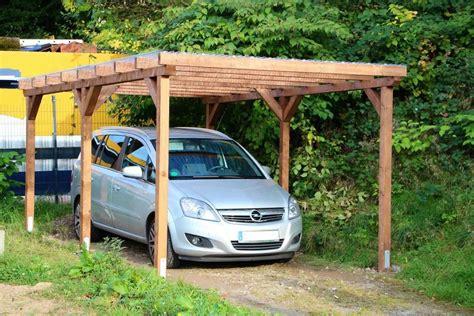 carport dach holz carport einzelcarport flachdachcarport 3m x 5m unterstand
