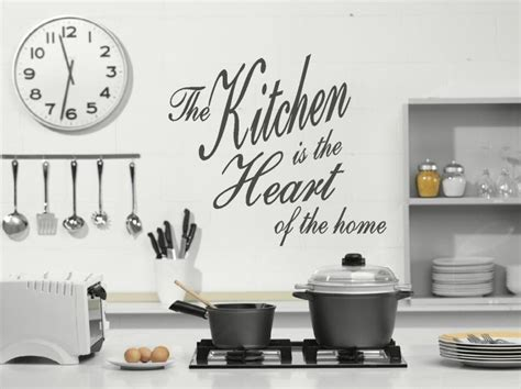 wall stickers for kitchens the kitchen is the of the home wall sticker