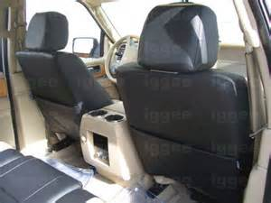 Seat Covers For Ford Expedition Ford Expedition 2007 2012 Iggee S Leather Custom Seat