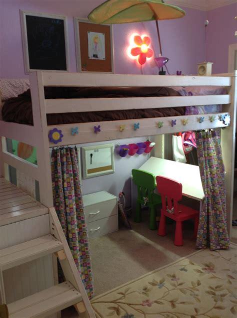 studio loft bed ana white art studio loft bed diy projects