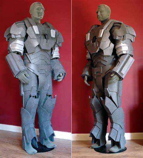war machine foam build full suit