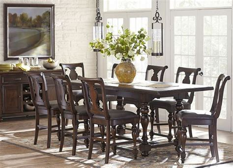 havertys dining room sets dining rooms morningside counter height table dining
