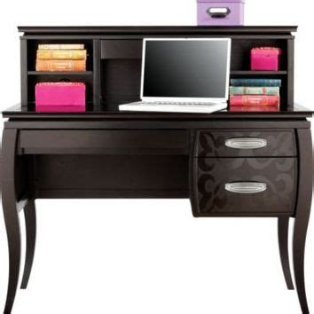 belle noir cherry student desk hutch from rooms to go
