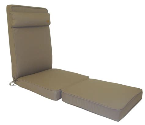 bespoke collection lounger cushion taupe