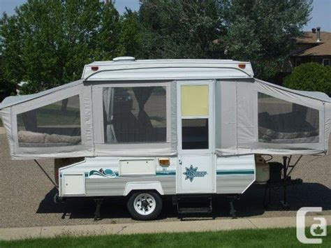 Privacy Bed Tent 1995 Bonair Tent Trailer For Sale In Medicine Hat Alberta