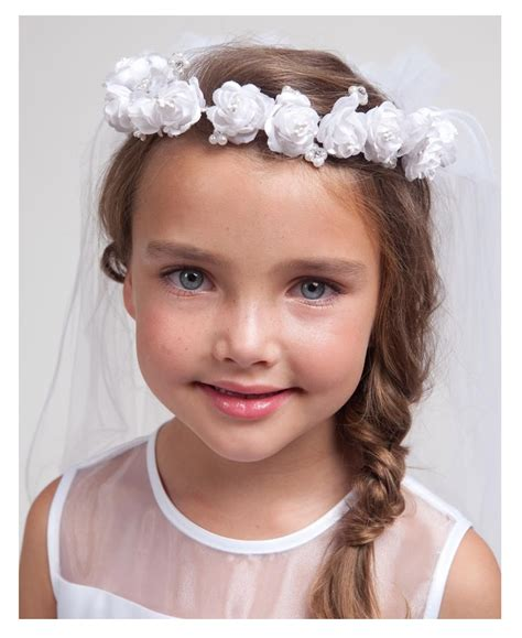 imagenes niños comunion peinados de comunion de nia with peinados con trenzas