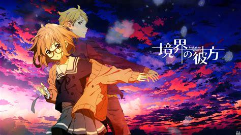no kanata anime review kyoukai no kanata les souvenirs bleus