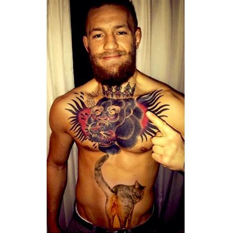 conor mcgregor tattoo tralee parody of bellybutton tattoo of conor mcgregor if you