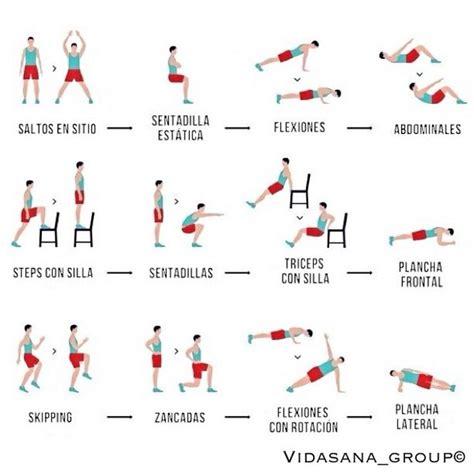 ejercicios en casa es rutina para quemar grasa y entrenar desde casa