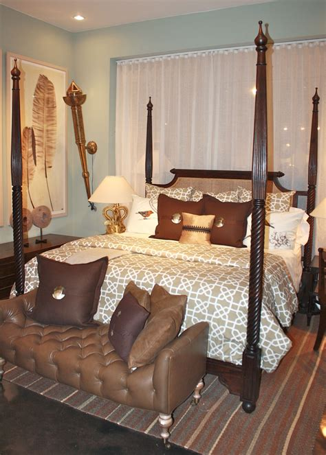 british colonial  poster bed king size indian bed