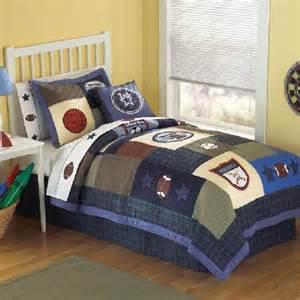 Boys twin sports bedding sports match comforter set