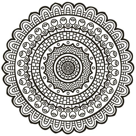 imagenes tipo mandalas mandala a dibujar let s draw pinterest mandalas