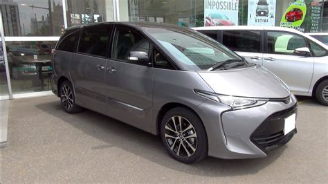 toyota estima 2016 2016 new toyota estima aeras premium g exterior